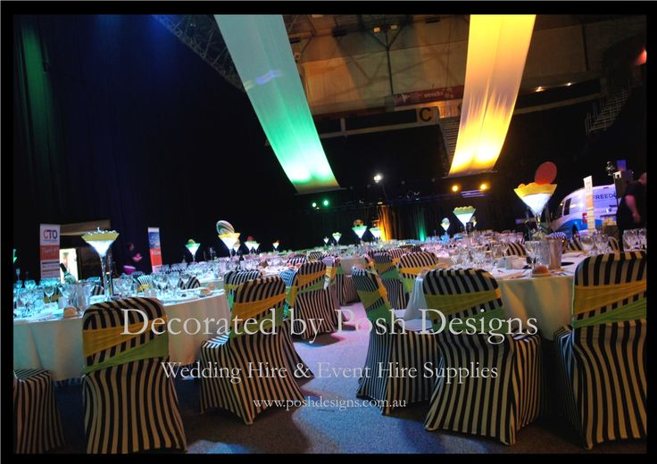 Green and yellow lycra bands - #wedding and #event #theming available at #poshdesignsweddings - #sydneyweddings #countryweddings #southcoastweddings #wollongongweddings #ruffledsashes #weddingsashes All stock owned by Posh Designs Wedding & Event Supplies – lisa@poshdesigns.com.au or visit www.poshdesigns.com.au or www.facebook.com/.poshdesigns.com.au #Wedding #reception #decorations #Outdoor #ceremony decorations #Corporate #event decoration #Fundraising event decoration #School…