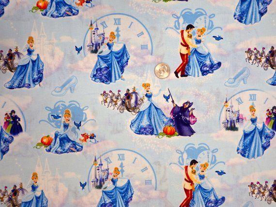 BonEful Fabric FQ Cotton Quilt Ballet Princess Girl Art Dog Crown Costume Dress