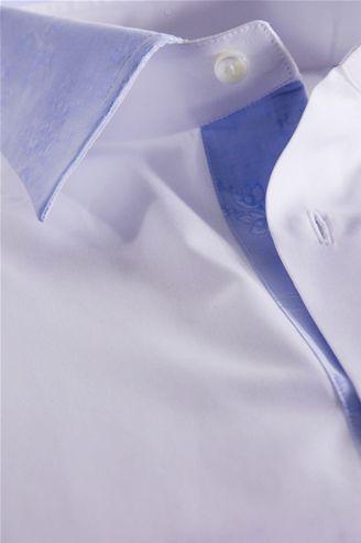 White Shirt, Finishing Heaven, Men's Shirt, Shirt Tailor - $146