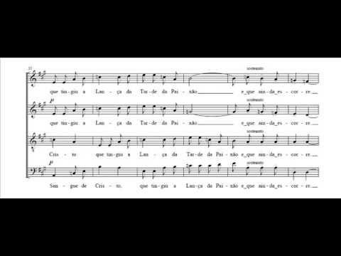 Manuel Faria   Sangue de Cristo   Coro misto
