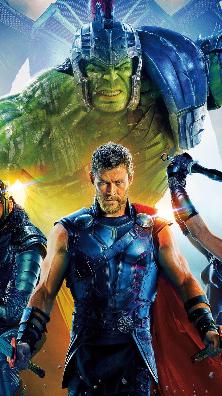 Thor Ragnarok Movie Poster Cast 2017 720x1280 Wallpaper Marvel Thor Hulk Avengers Hulk Marvel
