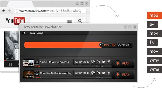 Get the YouTube Downloader. Paste, convert, enjoy - for FREE!