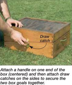 Washer Toss Box Plans (Beveled) | The Tossing Games Forum