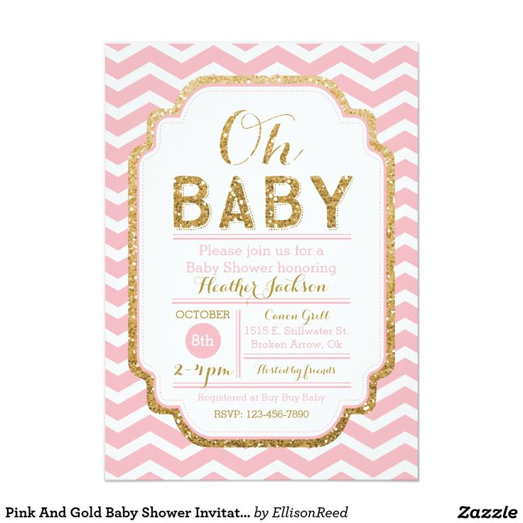 baby shower invitations baby girl card gold girl script fonts and