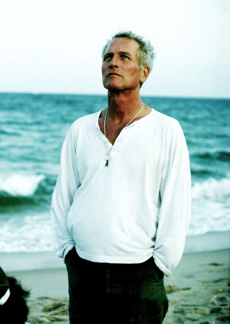 Paul Newman photographed by Steve Schapiro in Florida, 1983