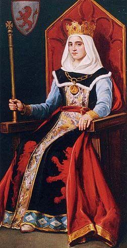 Reina Urraca de León, Castilla y Galicia de mayo de 1287 - 3 Nov 1220 era la hija de Alfonso VIII y Leonor de Inglaterra. Sus abuelos maternos eran Enrique II de Inglaterra y Leonor de Aquitania.