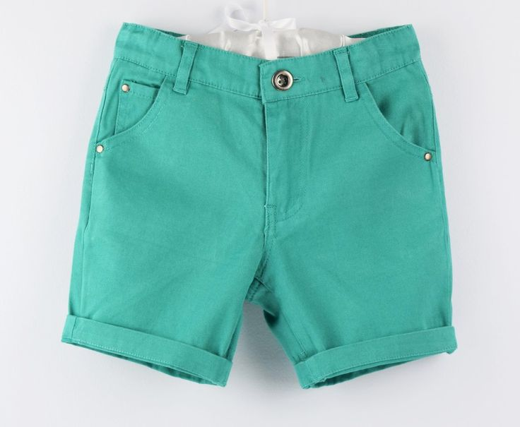 Cotton shorts - Green