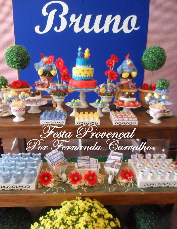 Galinha Pintadinha - Festa Provençal