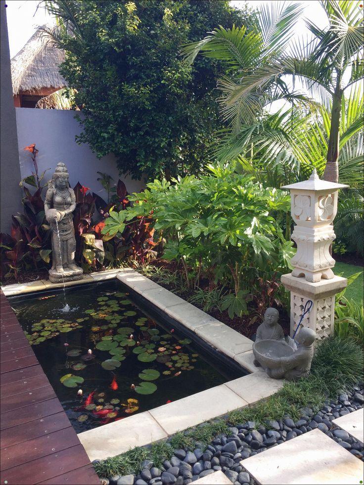 Balinesischer Garten Entwurf Durch Melisa Dixon Kleinen Hinterhofen Kleine Hinterhofgarten Balinesischer Garten