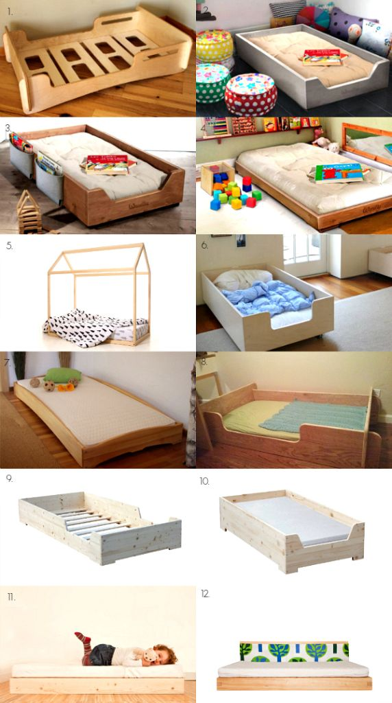 25 best ideas about toddler floor bed on pinterest On the floor bed frames