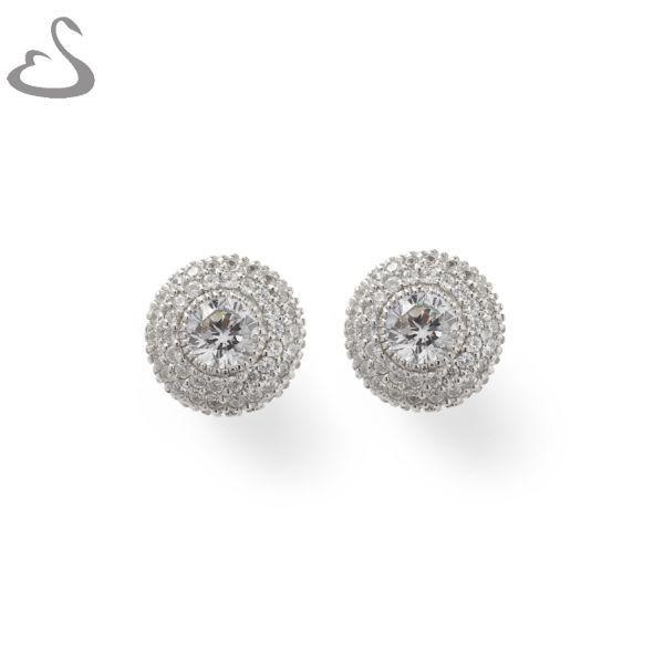 925 Sterling Silver and Cubics. ER-142. Company: Vera's Bridal Collection. Website: www.verasbridalcollection.co.za