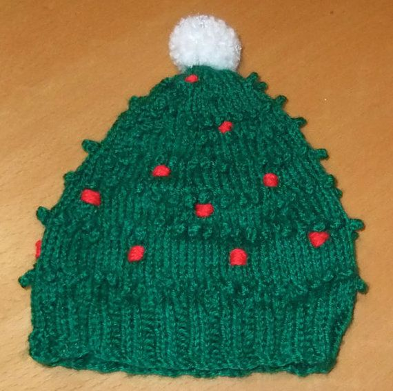 Knitted Christmas Tree Hat Pattern : 17 Best images about ? Christmas Tree Hats ? on Pinterest Christmas trees, ...