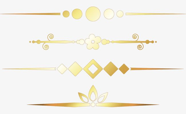 Vector Gold Frame Vector Separator Gold Vector Png Transparent Clipart Image And Psd File For Free Download Gold Frame Frame Vector