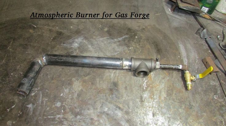 Atmospheric Burner for Gas Forge