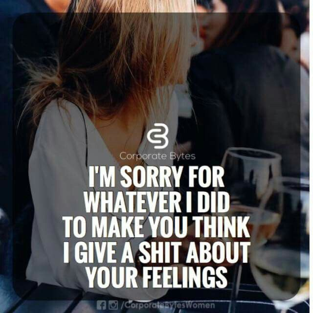 Sorry yaaa