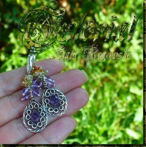 50 OFF PROMOTION Grapes Earrings Jewelry by BraceletsWorld on Etsy, $3.99