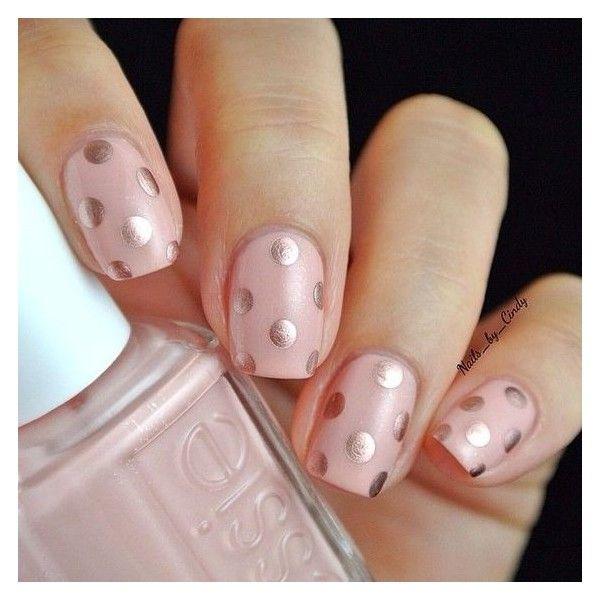 Pink nail polish ❤ liked on Polyvore featuring beauty products, nail care, nai…