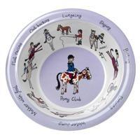 Tyrrell Katz Melamine Bowl ~ Horse Riding