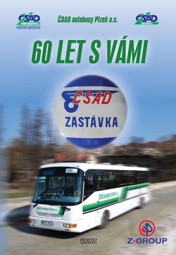 Kniha, která mapuje 60 let podniku ČSAD Plzeň.