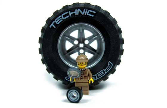 """#LEGO Wheels Diameters & Weights Chart.  The chart will help boys to choose the """"best"""" wheels for their LEGO vehicles."""