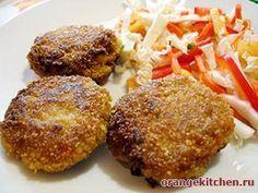 Вегетарианский рецепт овсяных котлет