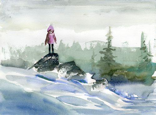 Untitled (on rocks), Chris Appelhans