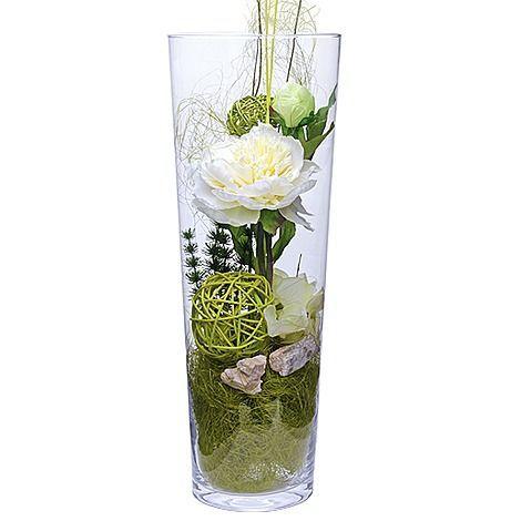 Glassvasen Dekoration