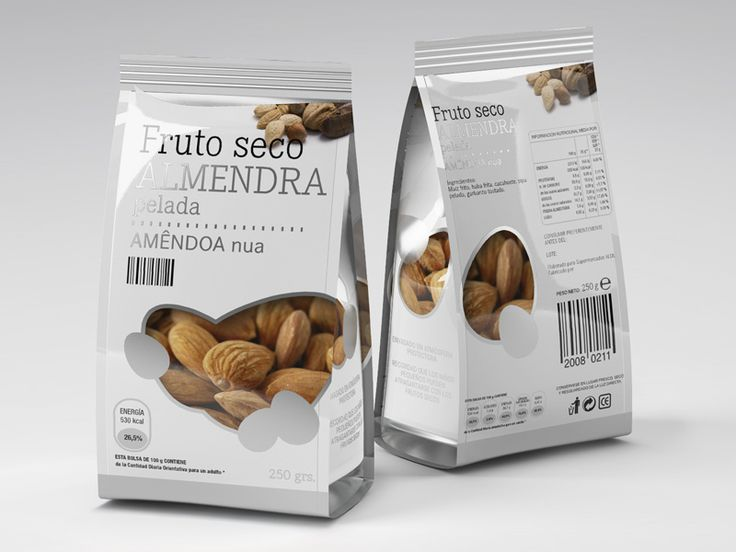 Might nuts packaging design