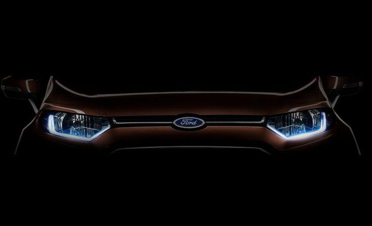 Ford EcoSport Facelift Teaser Revealed - MotorDestination