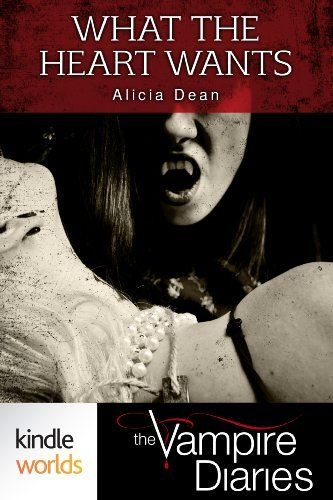 The Vampire Diaries: What the Heart Wants (Kindle Worlds Novella) by Alicia Dean, http://www.amazon.com/dp/B00COUQXNW/ref=cm_sw_r_pi_dp_Vo27rb1KR4ESS