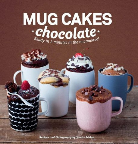 Mug Cakes Chocolate Ready in Two Minutes in the Microwave!