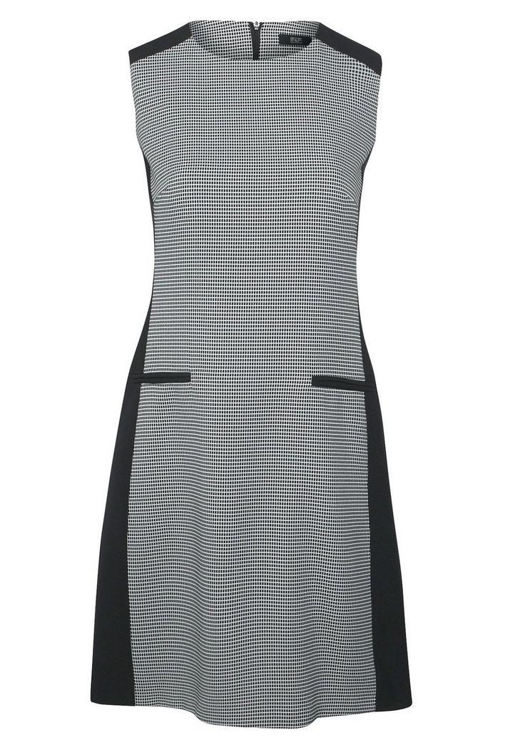 clothing at tesco f f grid print 60s dress dresses. Black Bedroom Furniture Sets. Home Design Ideas