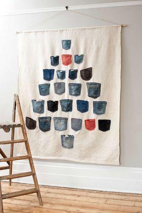 17 besten diy jeans recycle bilder auf pinterest. Black Bedroom Furniture Sets. Home Design Ideas