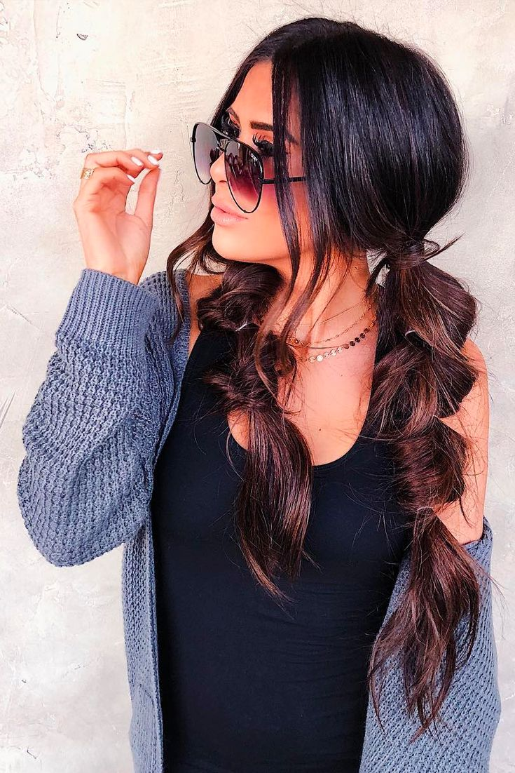 I am obsessed with my pigtails!!! Hairstyle, hairstyle inspiration, hairstyle ideas, long hair, Braids, Easy braids, beautiful braids, Hairstyle, Emily Gemma Hairstyle, The Sweetest Thing Blog #EmilyGemma, #TheSweetestThingBlog #hairstyle #braids #longhair