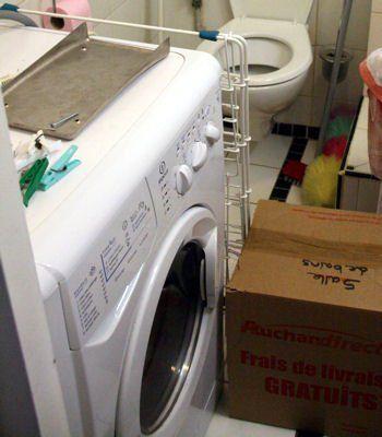 lbloquer le tambour de la machine à laver