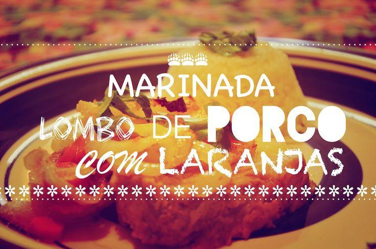 # MARINADA LOMBO DE PORCO COM LARANJAS #RECEITAS DE NATAL#NA ROTA DO BEM...