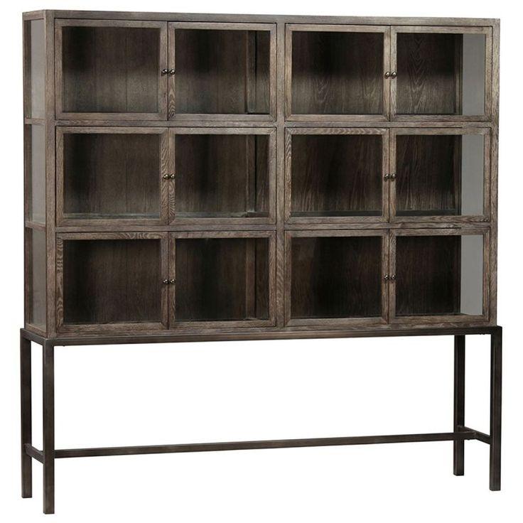 Dovetail Bryanston Cabinet-Large   Plum Goose