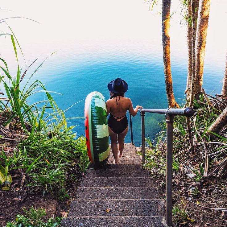Lake Eacham @wheresyoyo | Atherton Tablelands | Queensland | Australia #FNQ #kids #children #rainforest