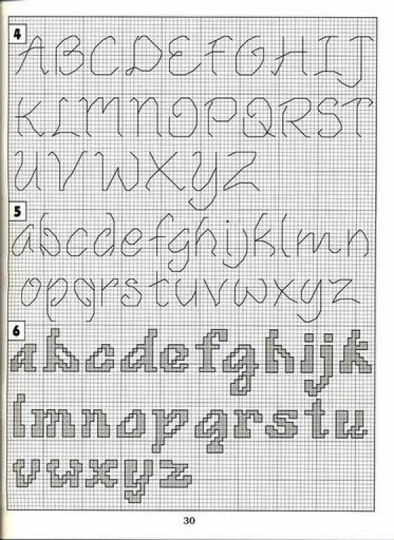 Letras para baberos | Aprender manualidades es facilisimo.com
