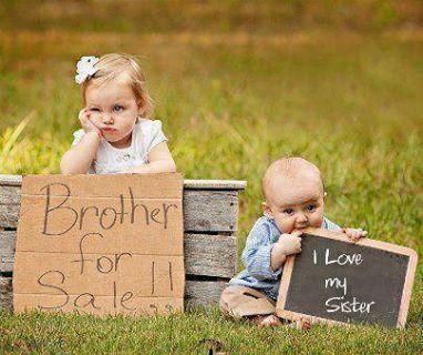 So unterschiedlich kann Geschwisterliebe sein :-D