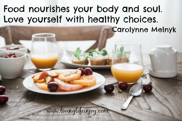 Food is more than just fuel for your body. How you eat and what you eat also feeds your soul.