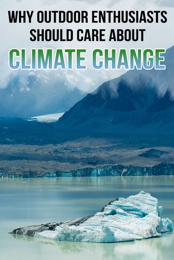 Learn about the impacts of climate change on outdoor recreation & why we as outdoor enthusiasts, including surfers, hikers & skiers should care.