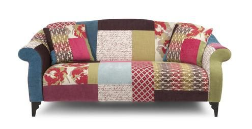Maxi Sofa Shout Patchwork DFS How Amazing Is This Couch