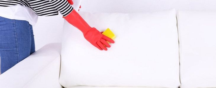 Как почистить белый диван из ткани в домашних условиях