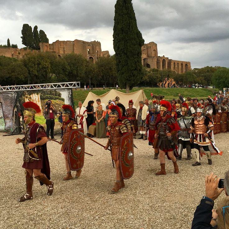 21/04 - Reconstitution de la naissance de Rome - Avr 2016 ©ROME Pratique