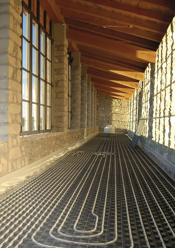 Valsir Underfloor Heating and Cooling Systems, Green Building | Sistemi di riscaldamento e raffrescamento a pavimento made in Italy