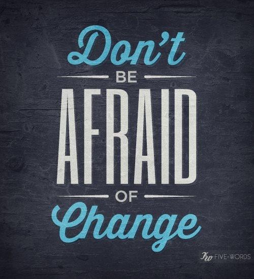 Le Decorazioni di Glee - Don't be afraid of change