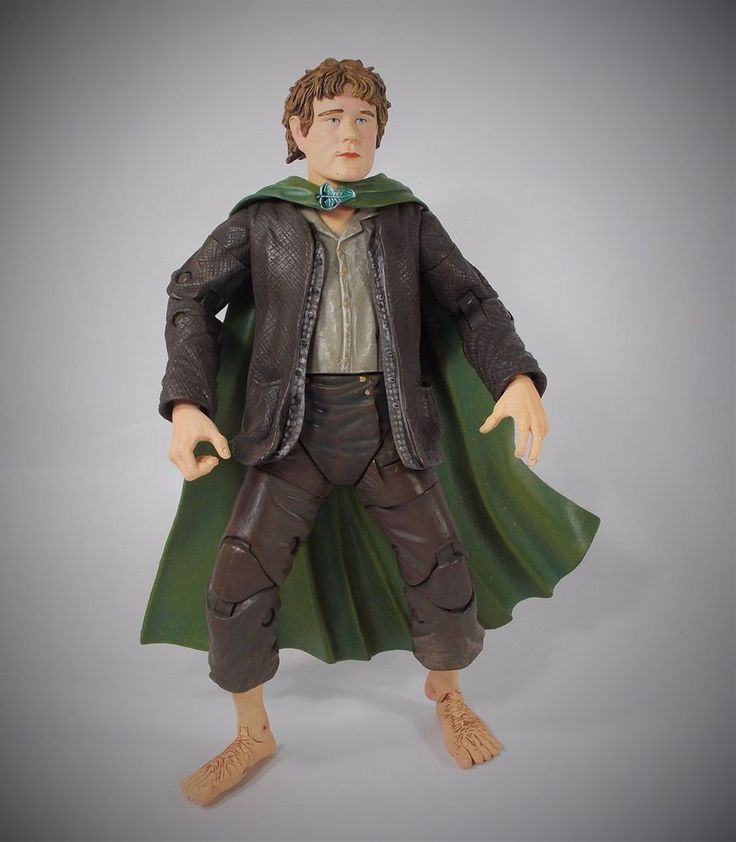 Lord of the Rings - Sam - Action Figure - 7  - Marvel 2005