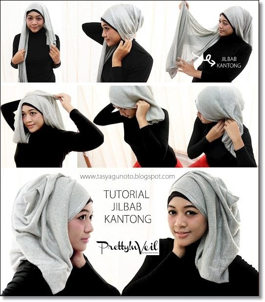 Hijab tutorial side drape ;)