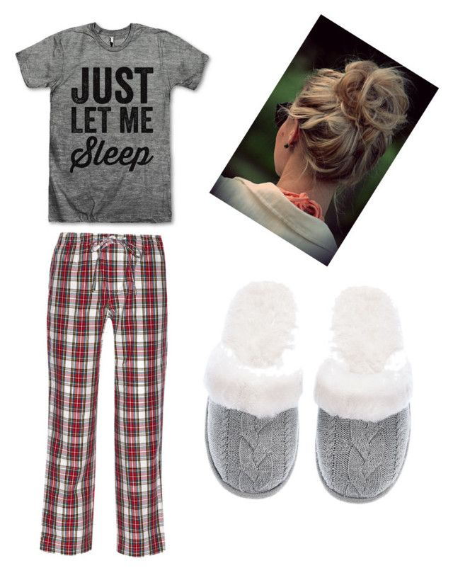 """Winter pajamas"" by delaney-willis on Polyvore featuring Sleepy Jones, Victoria's Secret, women's clothing, women, female, woman, misses and juniors"